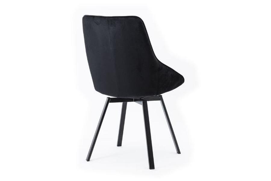 Stoel Beau  Stoelen Italian Design Industrieel Stof Zwart maatwerk
