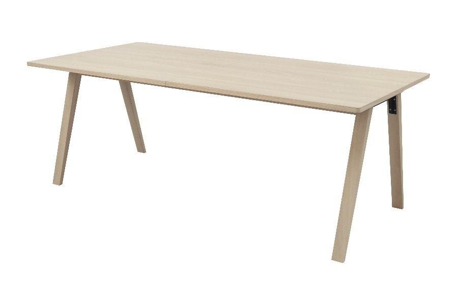 Verlengbare tafel Ivar Tafels Jong Wonen Eik Naturel maatwerk - Toonzaal Meubelen Larridon