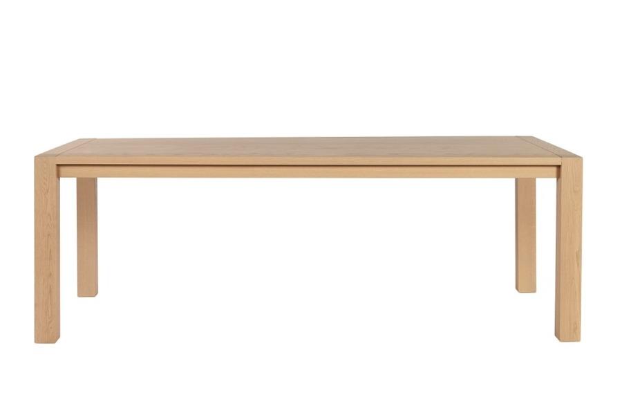 Tafel Deco Tafels Hedendaags Klassiek Strak Landelijk 100% Massief eik Naturel maatwerk - Toonzaal Meubelen Larridon