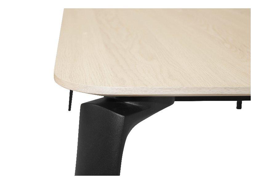 Verlengbare tafel Bente Tafels Jong Wonen Eik Naturel maatwerk - Toonzaal Meubelen Larridon