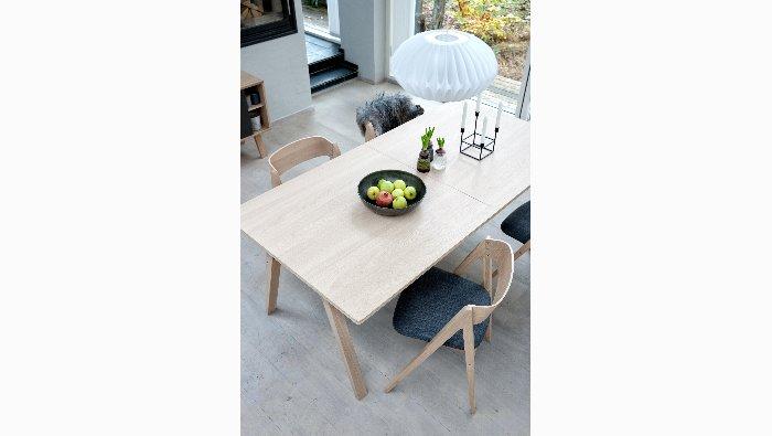 verlengbare tafel in eik