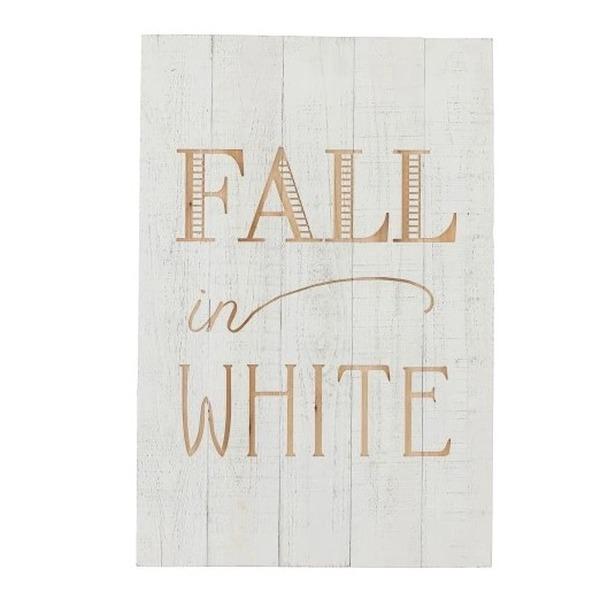 Kader Fall in White
