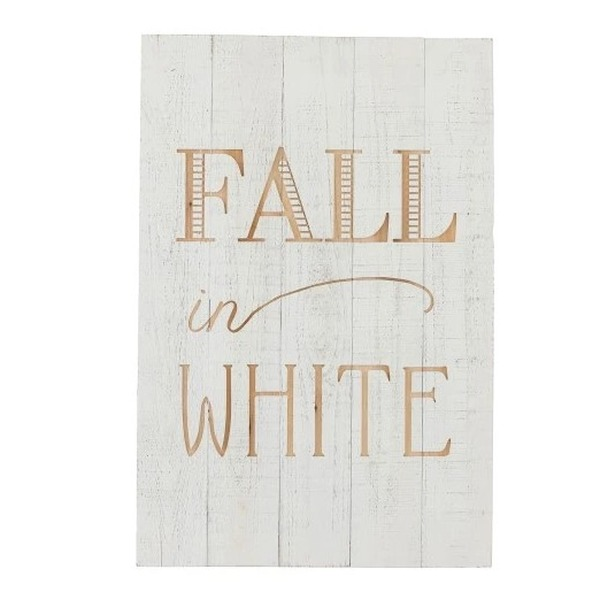 Kader Fall in White