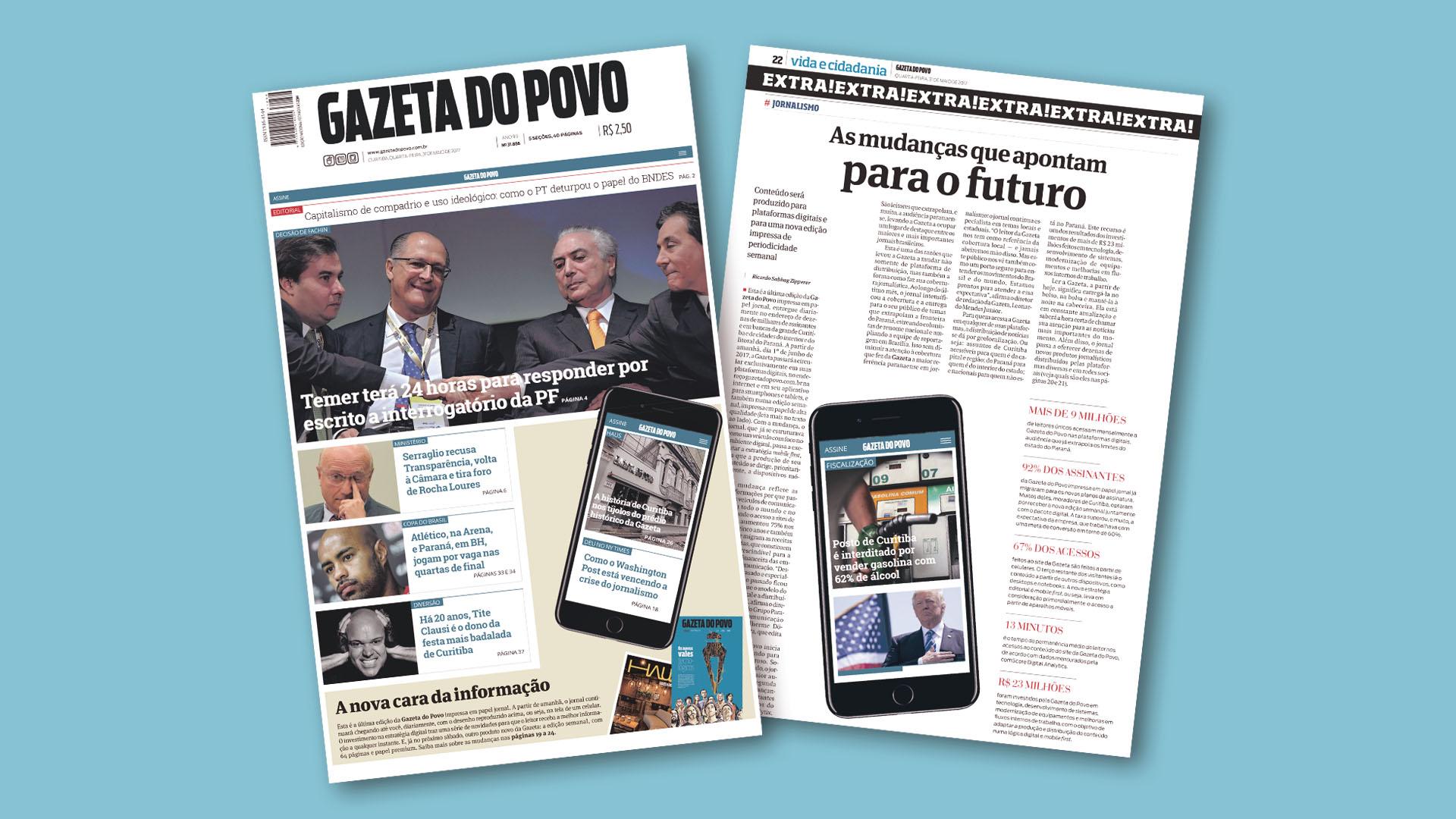 Aprenda como a Gazeta do Povo pivotou e deixou de ser um jornal impresso