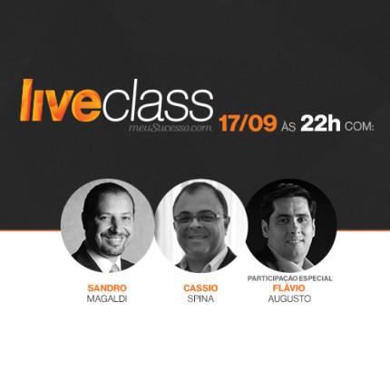 Nova LiveClass do meuSucesso.com vai falar sobre pitch