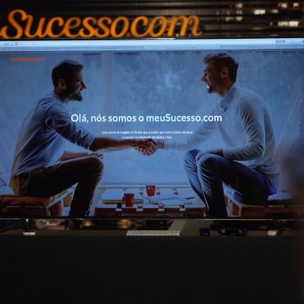 VÍDEO: Empreendedores visitam o meuSucesso.com