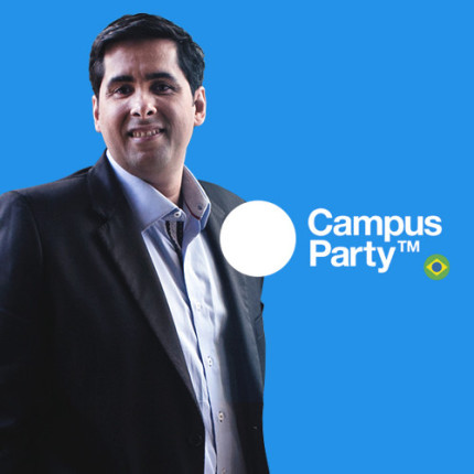 Flávio Augusto apresenta palestra na Campus Party Brasil