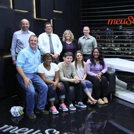 Estudantes da Frostburg State University visitam o meuSucesso.com