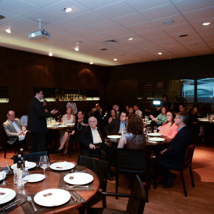 Jantar reúne empreendedores que foram protagonistas de Estudos de Caso