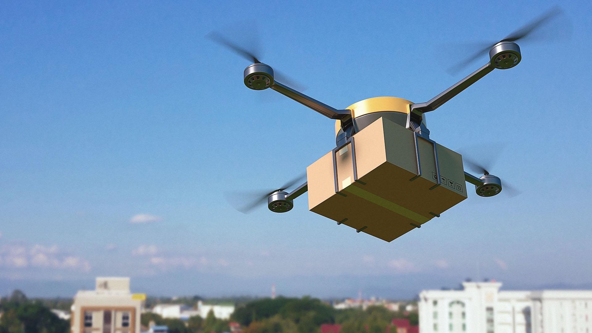 Amazon quer criar armazéns voadores e usar drones para entregas rápidas