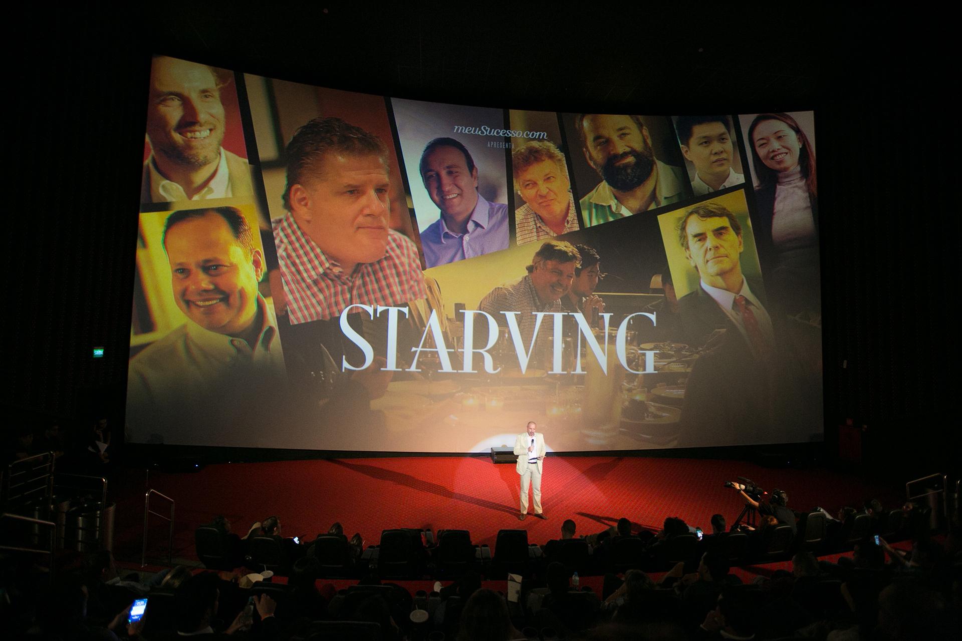 [VÍDEO] Série Starving estreia no Cinépolis com sala lotada