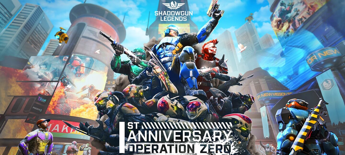 Shadowgun Legends Anniversary