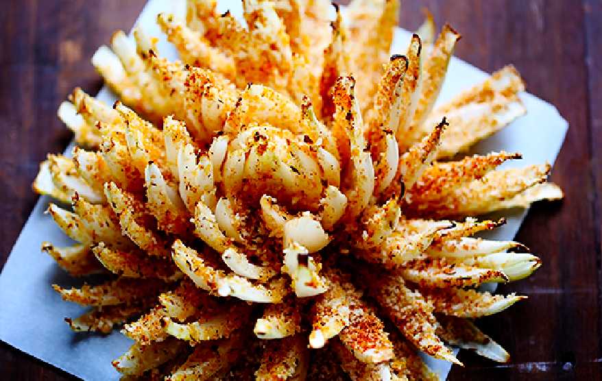 Super Bowl Super Snacks (Part 2): Baked Blooming Onion