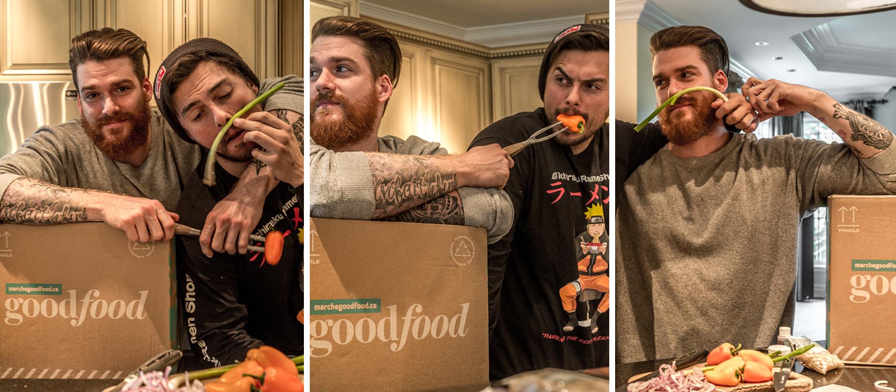 BON RYTHMES, BON REPAS: Adventure Club cuisine avec Goodfood