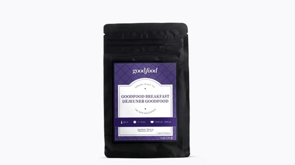 Bag of Goodfood herbal tea