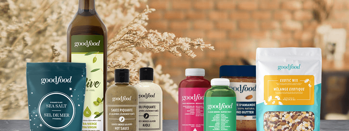 Image of Goodfood grocery essentials products
