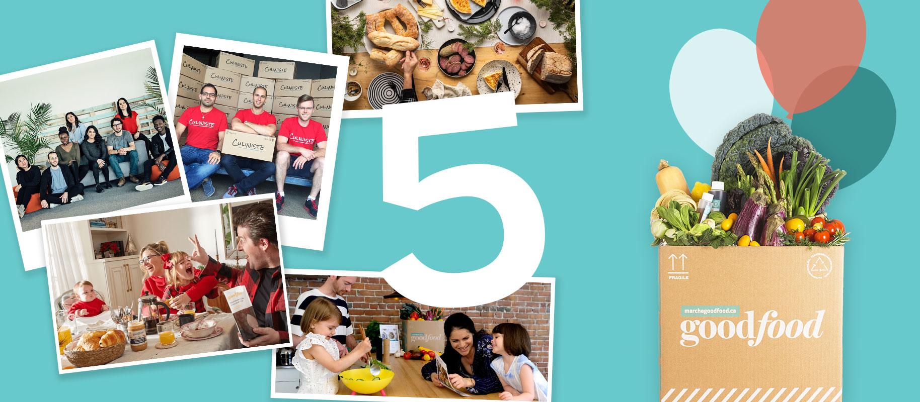 Le Marché Goodfood fête ses 5 ans