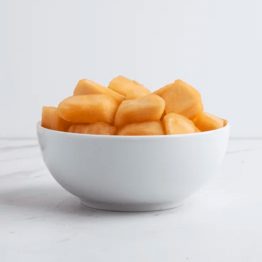 Bowl of Goodfood's fresh cut cantaloupe