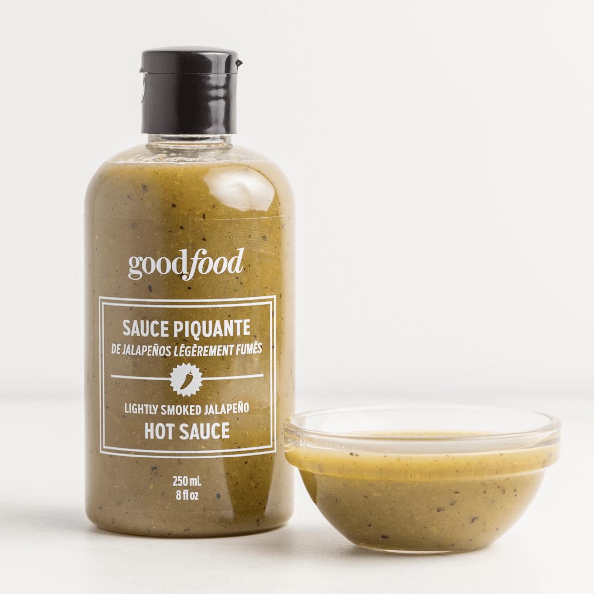 Goodfood jalapeno hot sauce