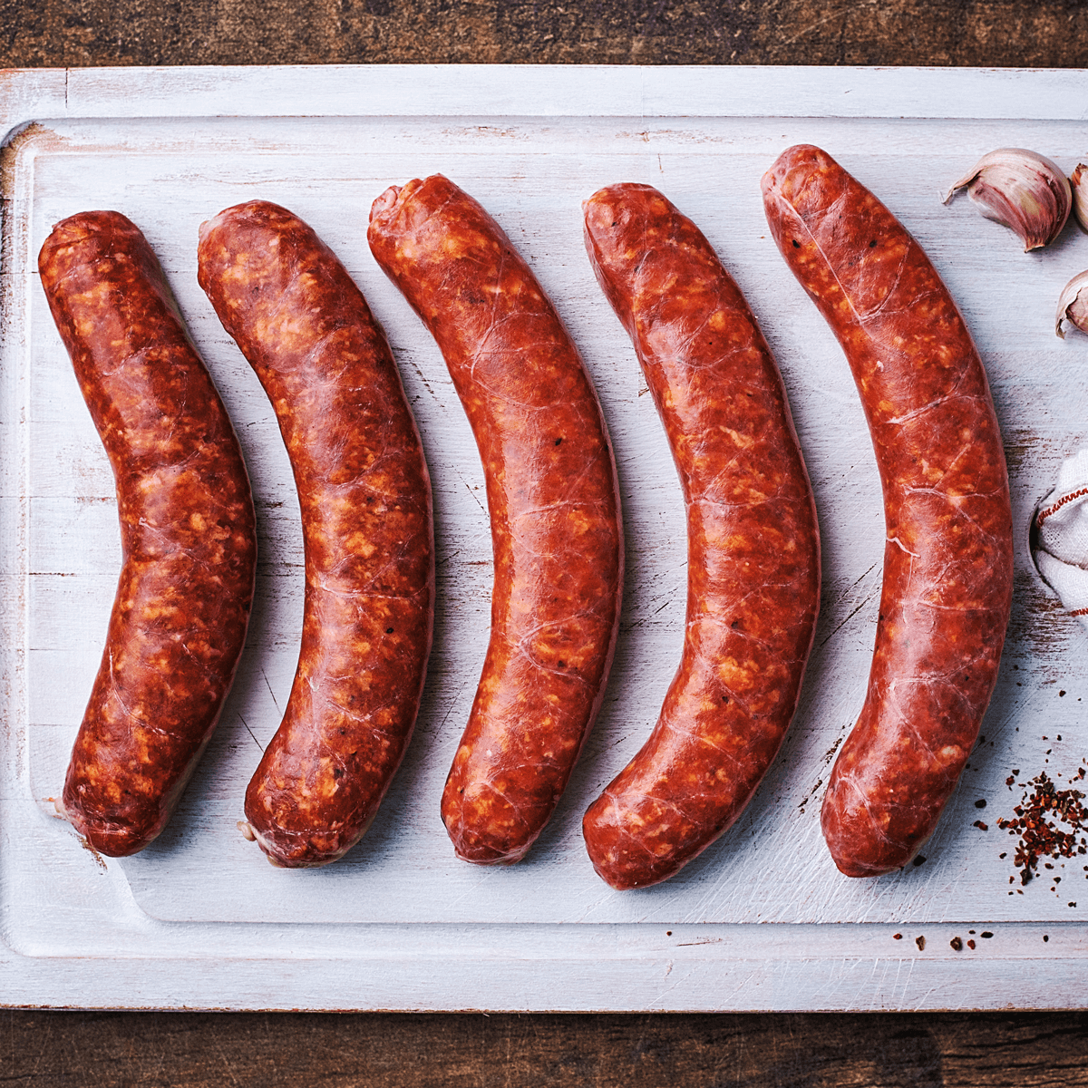 mild italian sausages from Goodfood