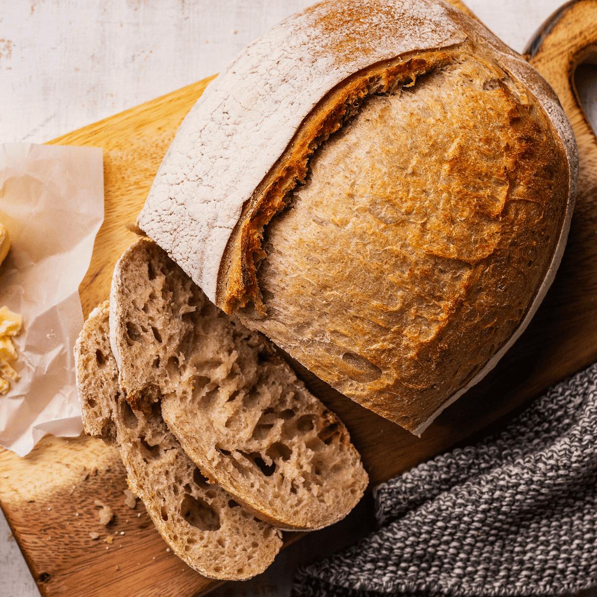 Ready-to-bake artisanal sourdough bread