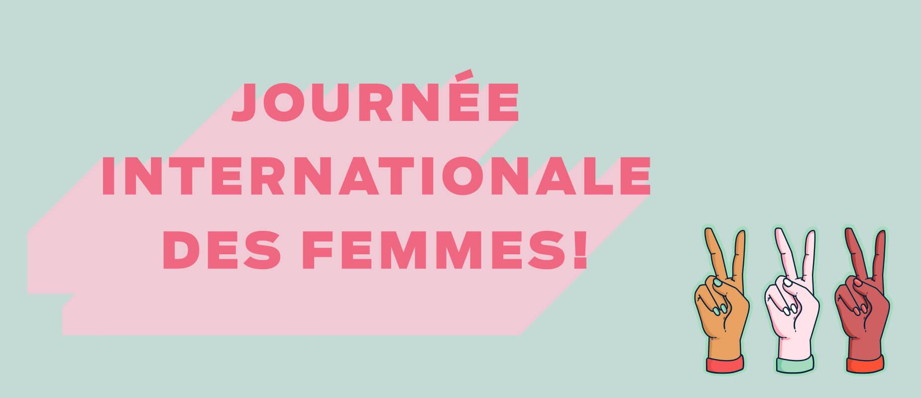 #GrâceÀVous à l'occasion de la Journée internationale des femmes