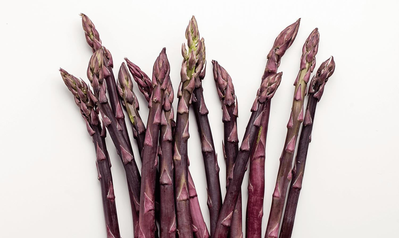 Asperges violettes