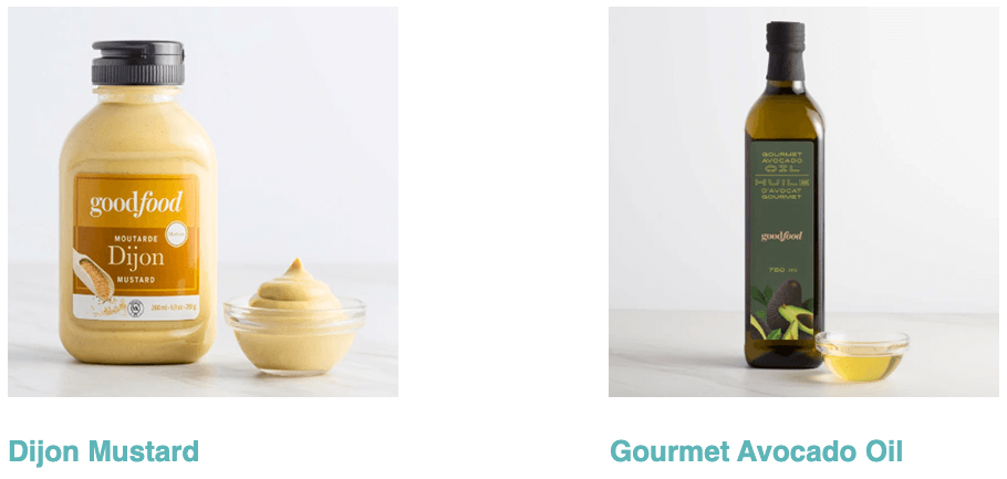 Goodfood Dijon mustard and gourmet avocado oil