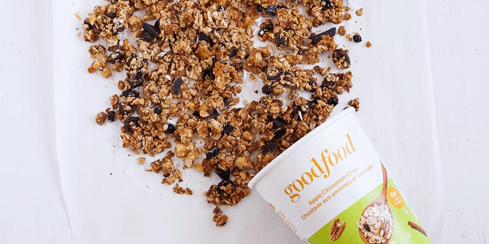 Goodfood oat bowl granola