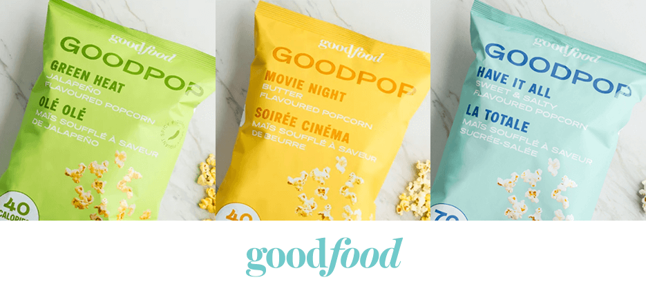 Goodpop popcorn