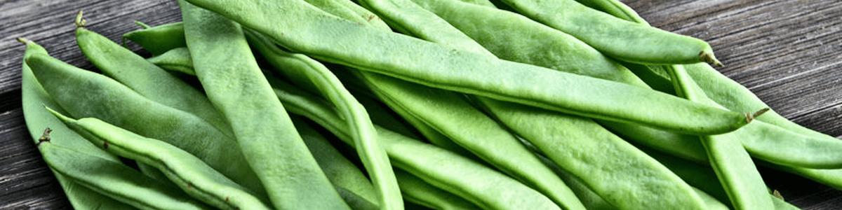 Bushel of flat beans