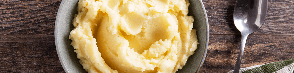 Ready-to-eat mashed potatoes from Goodfood