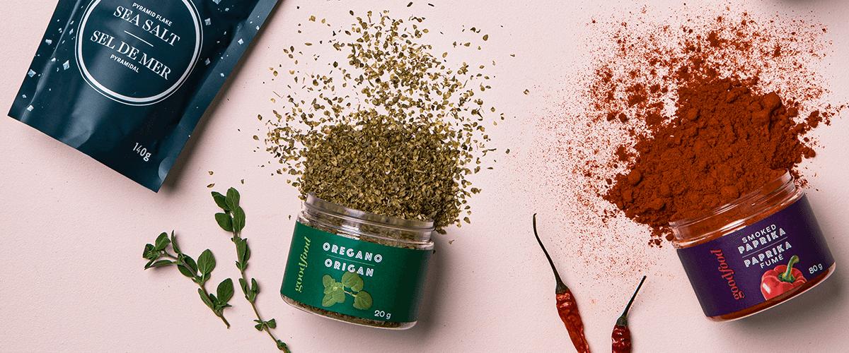 Image of Sea Salt, Oregano and Smoked Paprika