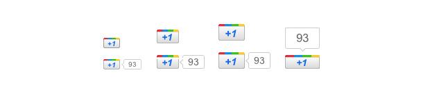 Google Plus +1 Buttons