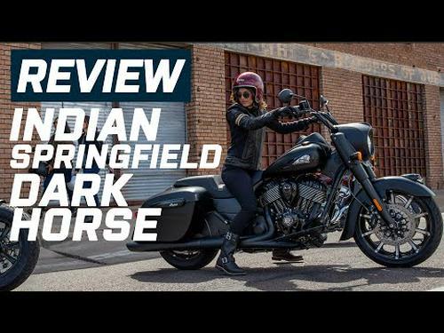 Indian Springfield Black Horse Review 2020   Visordown.com