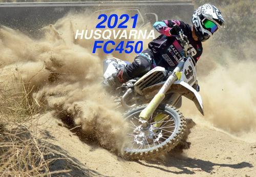 2021 HUSQVARNA FC450 FIRST RIDE: 2021 VIDEO SERIES