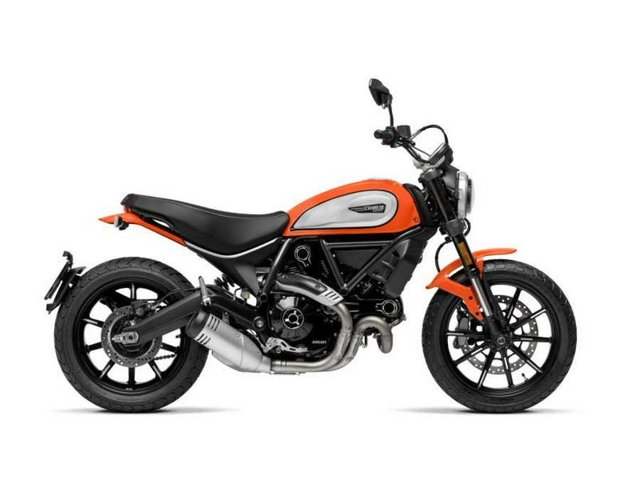 2020 Ducati Scrambler 800 Icon Atomic Tangerine