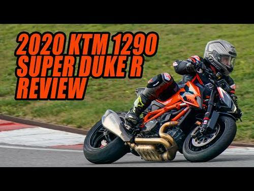 2020 KTM 1290 Super Duke R Review