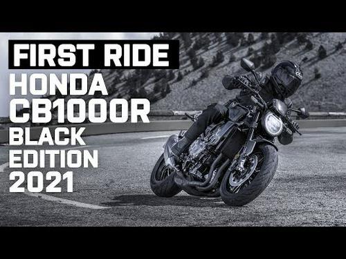 New 2021 Honda CB1000R Black Edition First Ride   Visordown.com