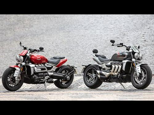 2020 Triumph Rocket 3 R And GT Review | First Ride