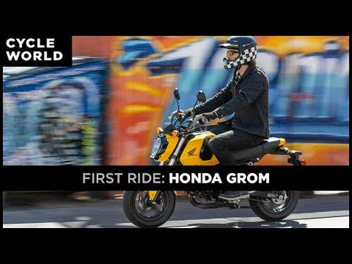 2022 Honda Grom | First Ride