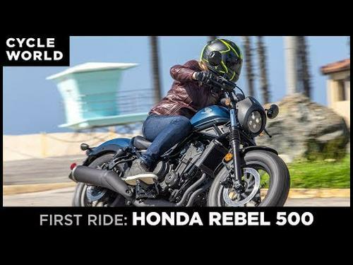 2020 Honda Rebel 500 Review | First Ride