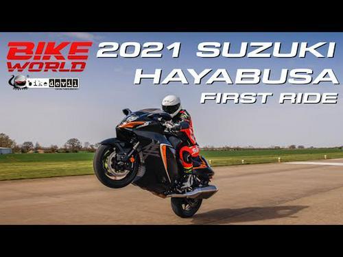2021 Suzuki Hayabusa first ride | Road, Top Speed Run & Crazy Wheelies