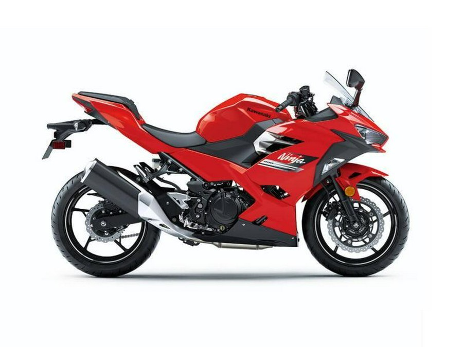 2021 Kawasaki Ninja® 400 ABS Passion Red