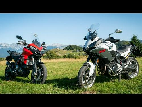 2020 BMW F900XR vs Ducati Multistrada 950S | Review