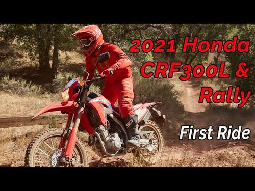2021 Honda CRF300L and CRF300 Rally Review First Ride