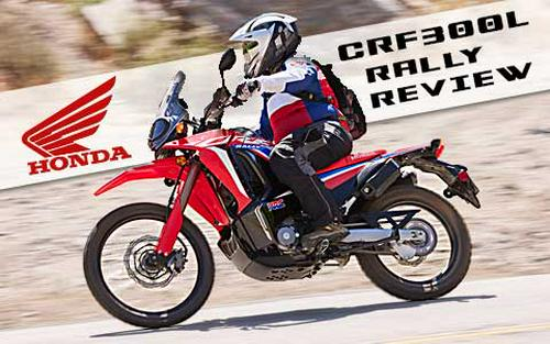 2021 Honda CRF300L & CRF300L Rally First Ride Review