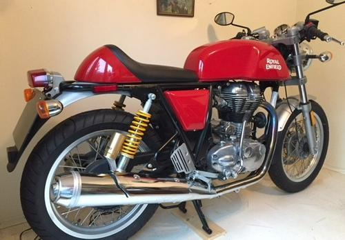 2015 Royal Enfield Continental GT Cafe Racer Classic
