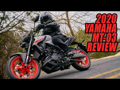 2020 Yamaha MT-03 Video Review