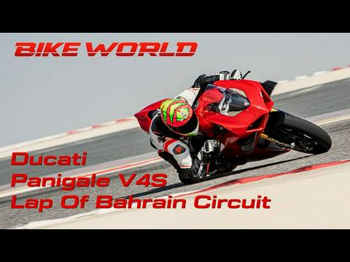 2020 Ducati Panigale V4S Bahrain Lap With Chris Northover